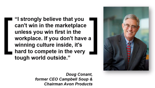 Doug Conant quote campbell leadership culture