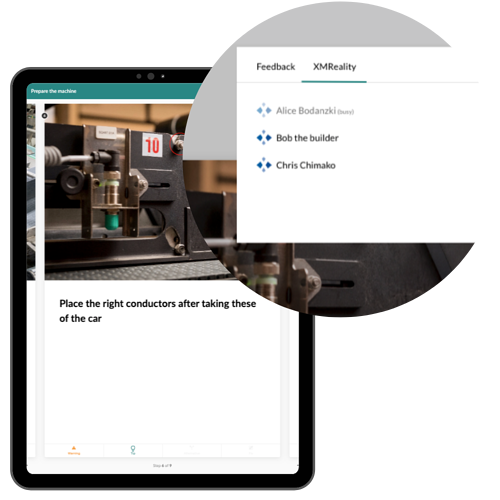 Tablet Select the Expert for Remote Support